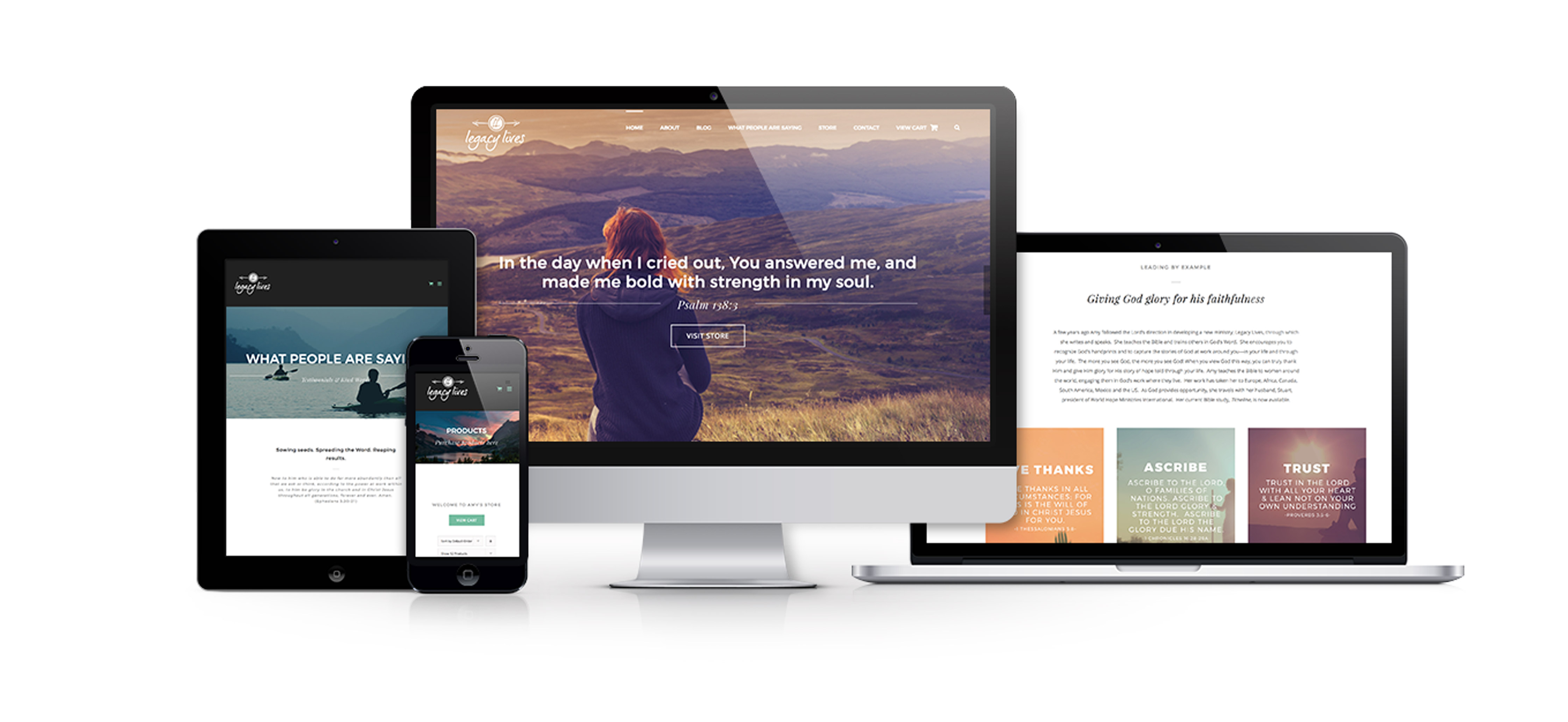 Amy Sheehan Responsive Ecommerce Website