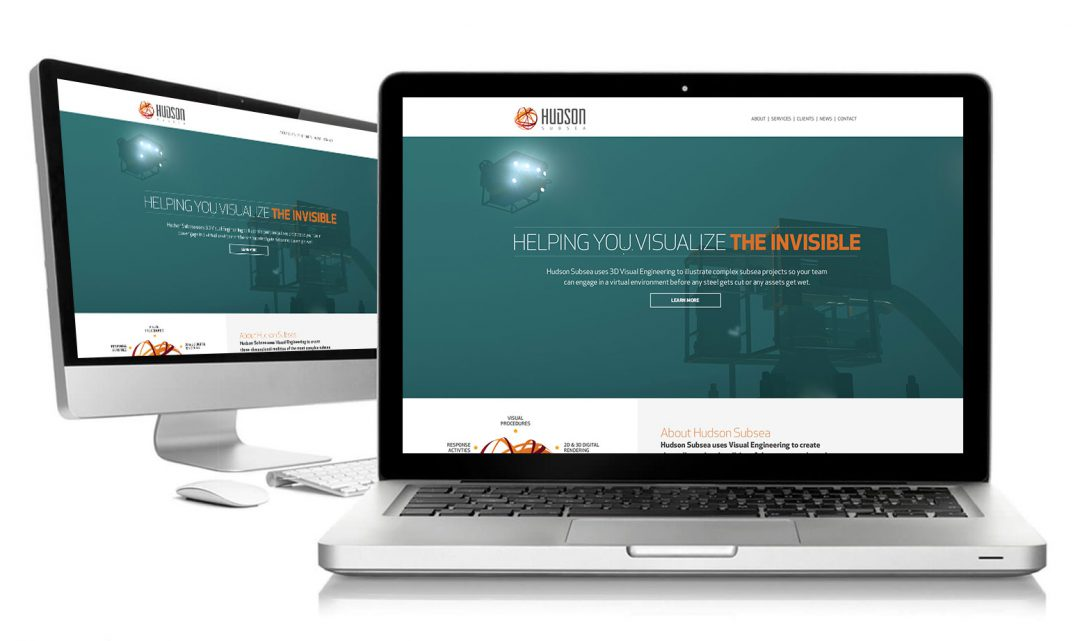 Hudson Subsea Responsive Website