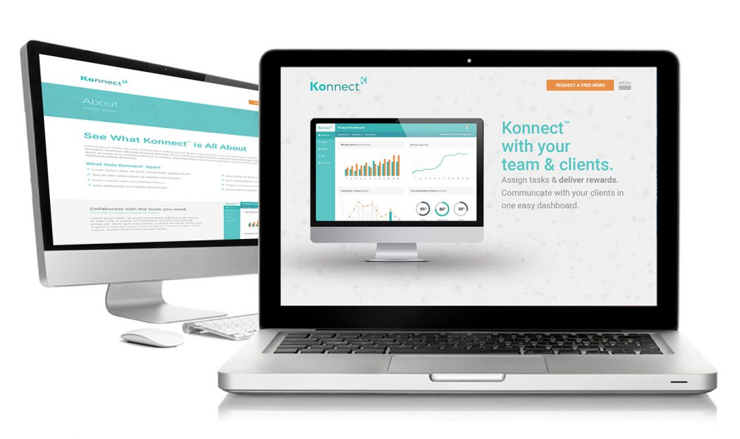 Konnect Website Template