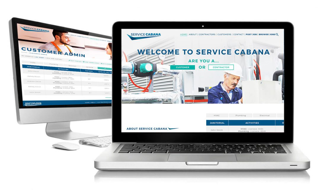 Service Cabana by Collective Trade Solutions Website Marketplace