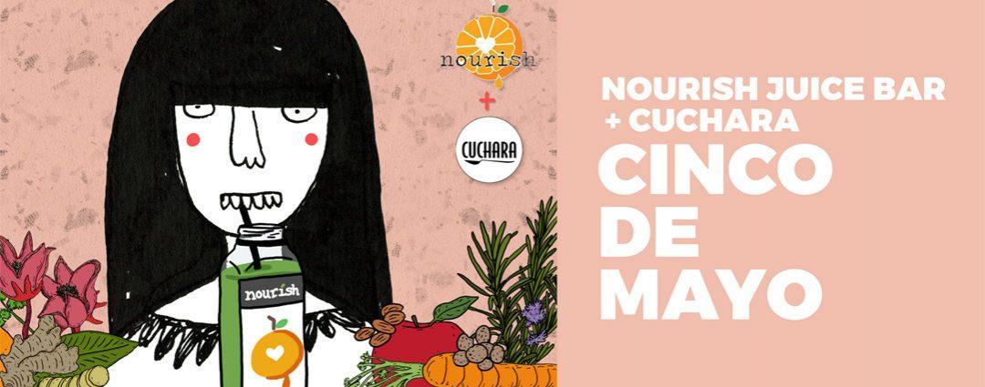 Cuchara Advertisement for Nourish Juice Bar