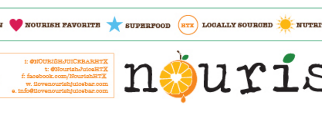 Nourish Juice Bar Ingredient List